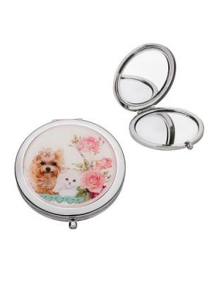 Коте и куче огледалце